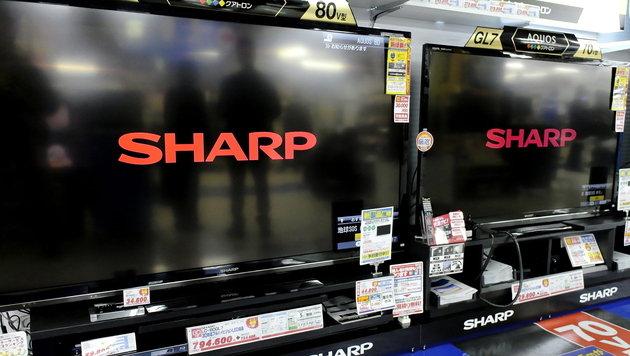 Weniger Aufträge von Apple: Rekord-Verlust bei Sharp (Bild: EPA)