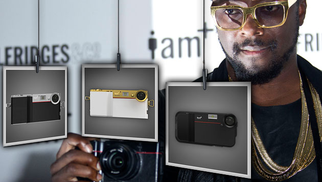 Will.i.am stellt 14-Megapixel-Kamerahülle vor (Bild: ap, i.am, krone.at-Grafik)