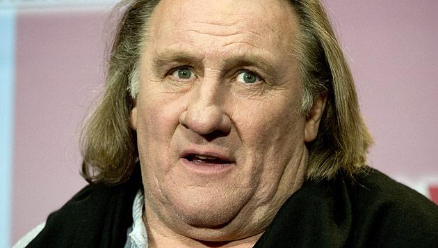 Betrunkener Gerard Depardieu baut mit Motorroller Unfall (Bild: dapd)