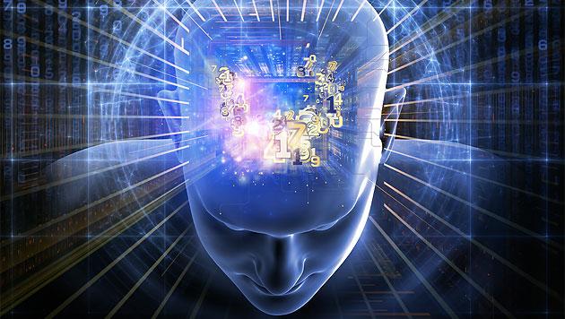 Computer-Gehirn aus Tausenden virtuellen Nerven (Bild: thinkstockphotos.de (Symbolbild))