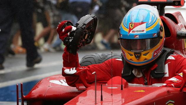 Ferrari verzichtet auf Protest gegen Vettels WM-Titel (Bild: EPA)