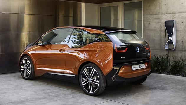 i3 Coupé Concept: BMWs Elektromobil ist zu 90% fertig (Bild: BMW)