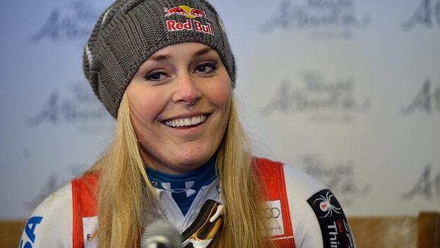 """Lindsey Vonn: """"In St. Anton bin ich wieder dabei"""" (Bild: EPA)"""
