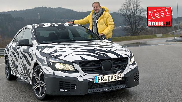 So scharf wird die AMG-Version der Mercedes-A-Klasse (Bild: Daimler)