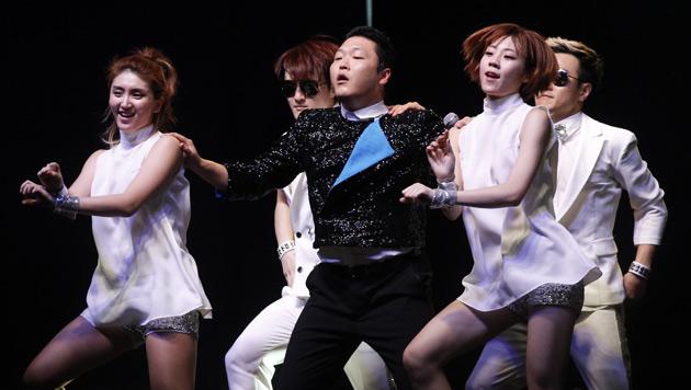 "Rapper Psy ist schon genervt vom ""Gangnam Style"" (Bild: EPA)"