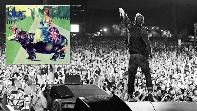 Britpop-Helden Blur mit wuchtigem Livepackage (Bild: Linda Brownlee, EMI Music)