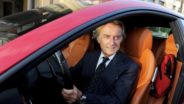 Ferrari-Präsident von Schumacher enttäuscht (Bild: EPA)