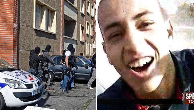 Mohammed Merah, der Todesschütze von Toulouse (Bild: AP, France2/dapd)