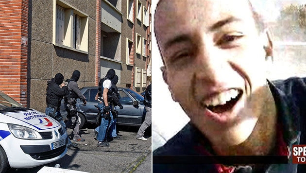 Mohammed Merah, der Todessch�tze von Toulouse (Bild: AP, France2/dapd)
