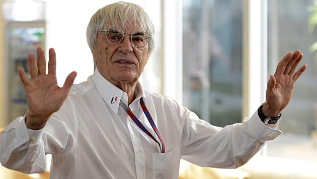 """Bernie Ecclestone: """"Spüre meine 82 Jahre nicht"""" (Bild: EPA)"""
