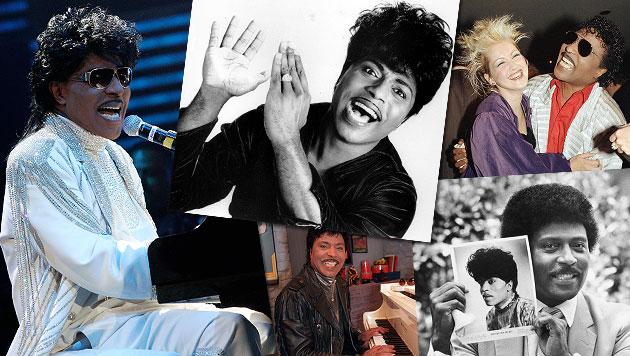 """Rock-""""n""""-Roll-Gott Little Richard feiert 80. Geburtstag (Bild: dapd)"""