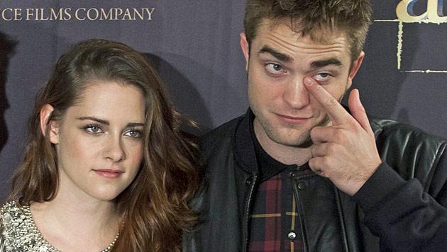Stewart und Pattinson: Es kriselt noch immer! (Bild: dapd)
