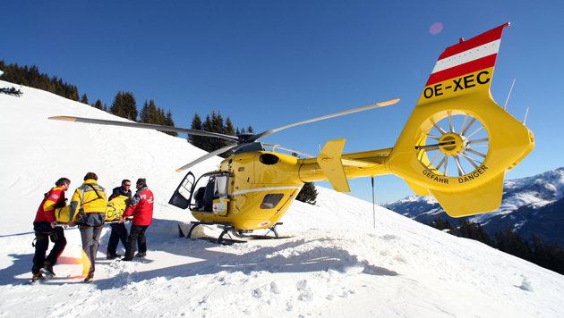 Zwei Snowboarder �berleben in Tirol 130-Meter-Absturz (Bild: APA/GEORG HOCHMUTH (Symbolbild))