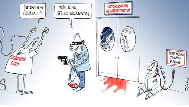 """Ärzte stellen der Politik die """"Rute ins Fenster"""" (Bild: aeksbg.at)"""