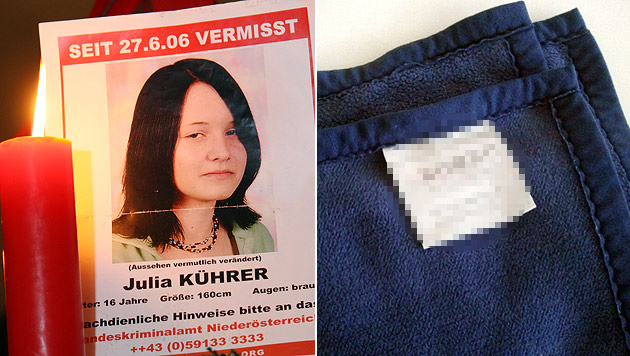 Mordverdächtiger im Fall Julia Kührer zum 2. Mal in Haft (Bild: Peter Tomschi, BK)
