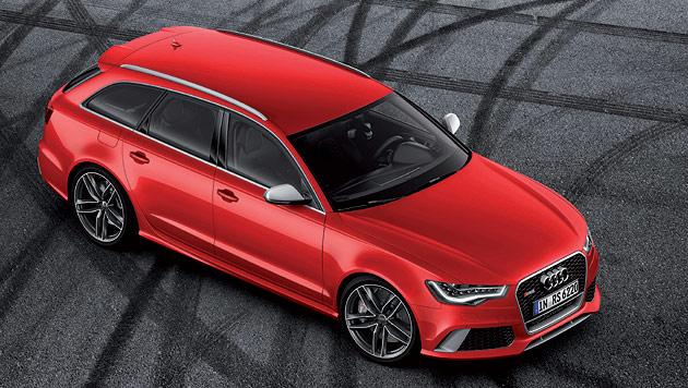 Neuer Audi RS6 Avant: Sportwagen mit Ladefl�che (Bild: Audi)