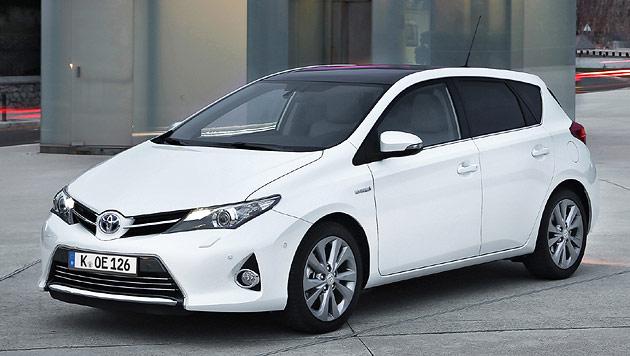 Toyota Auris: Volle Breitseite gegen den VW Golf (Bild: Toyota)