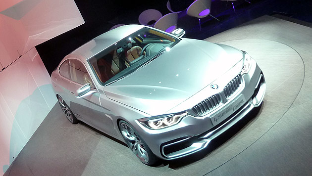 BMW pr�sentiert das kommende 4er-Coup� (Bild: Stephan Sch�tzl)