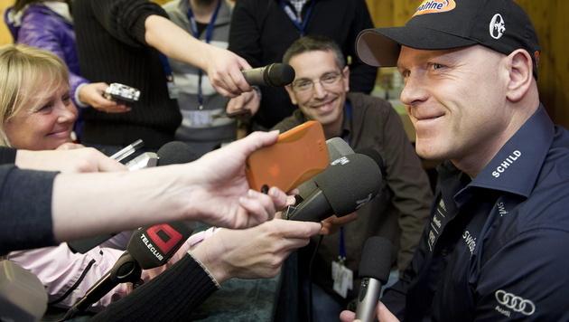 Didier Cuche kehrt in den Ski-Zirkus zurück (Bild: EPA)