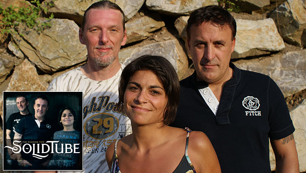 """""""Große Chance""""-Finalisten SolidTube mit neuem Album (Bild: Kawus Nikou, Sony Music)"""