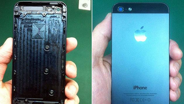 Testproduktion des nächsten iPhone soll angelaufen sein (Bild: iphone5parts)