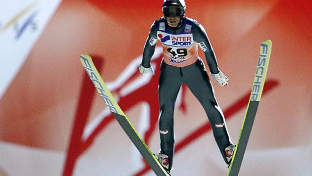 Schlierenzauer holt 42. Weltcupsieg, Kofler Dritter (Bild: dapd)