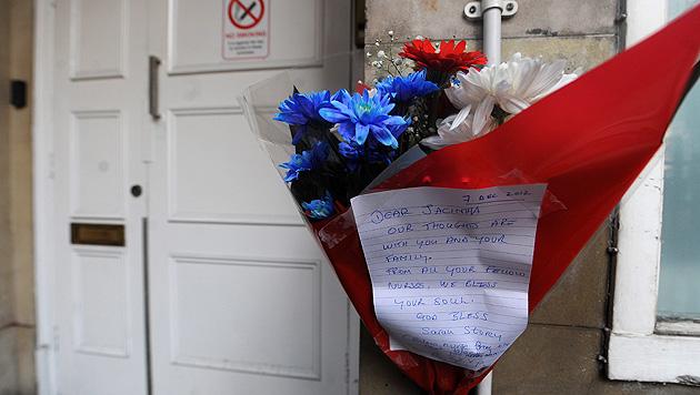 Schock und Trauer nach Tod von Kates Krankenschwester (Bild: EPA)