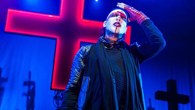 Zombie und Manson rockten in der Wiener Stadthalle (Bild: Andreas Graf)