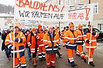 Beamte in Salzburg gehen erneut auf die Barrikaden