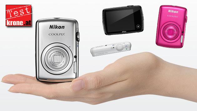 Coolpix S01: Nikons Immer-dabei-Kamera im Test (Bild: Nikon, krone.at-Grafik)