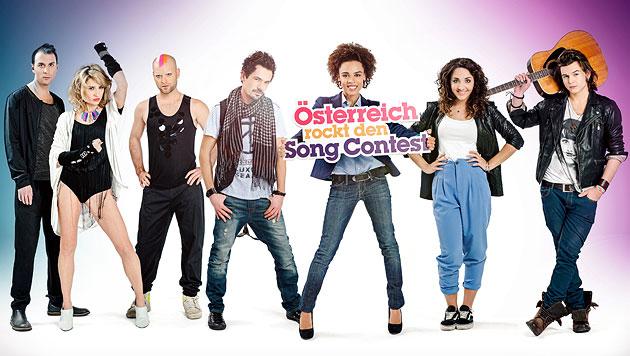 Österreichs 5 Song-Contest-Kandidaten stehen fest (Bild: ORF/Hans Leitner)