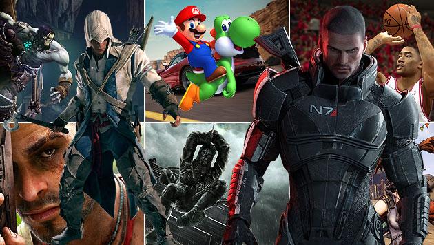 Spannung und Spa� garantiert: Die besten Games 2012 (Bild: Hersteller, krone.at-Grafik)