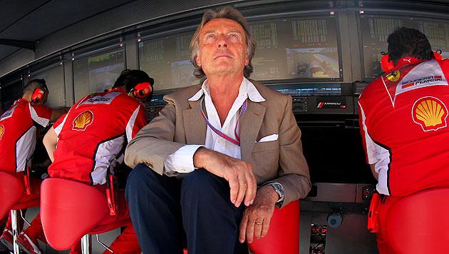 Montezemolo bleibt bei Standpauke für Alonso (Bild: EPA)