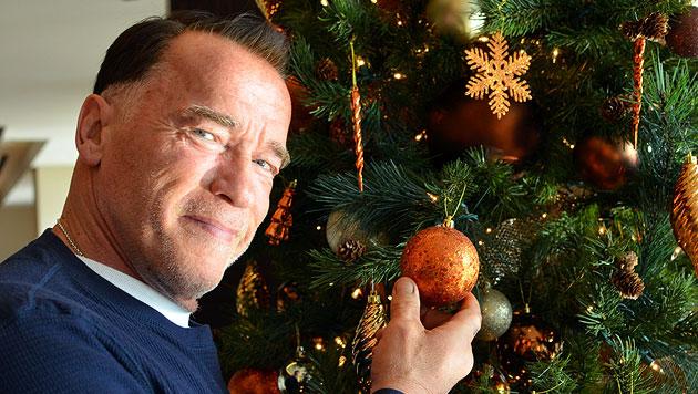 """Schwarzenegger: """"Wir feiern heuer gemeinsam"""" (Bild: Werner Kopacka)"""
