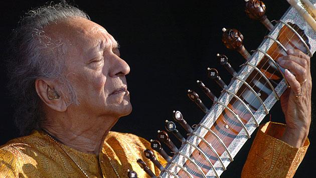 Sitar-Legende Ravi Shankar mit 92 Jahren verstorben (Bild: dapd)