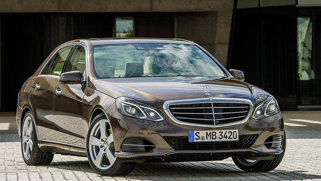 Die neue Mercedes-E-Klasse tickt wie die S-Klasse (Bild: Daimler)