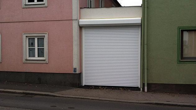 """Dunkles Asylheim in O�: """"Die B�rger haben keine Angst"""" (Bild: """"Krone"""")"""