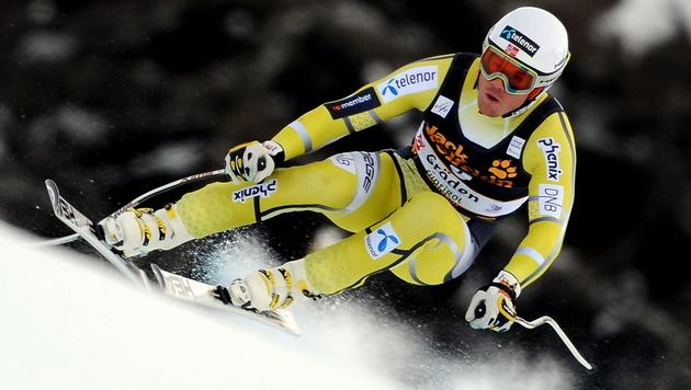 Jansrud und Svindal dominieren, Klaus Kröll erneut Dritter (Bild: EPA)