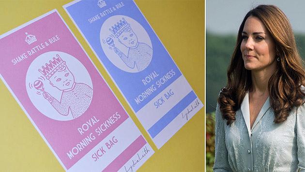 Wie bei ihrer ersten Schwangerschaft leidet Herzogin Catherine an extremer Übelkeit. (Bild: www.lydialeith.com, AP)