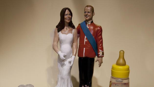 Kate ist schlecht - und andere machen damit Geschäfte (Bild: AP)