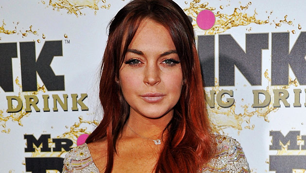 Skandalnudel Lindsay Lohan droht erneut Haftstrafe (Bild: dapd)
