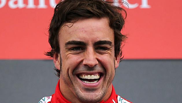 """Alonso für F1-Bosse noch vor Vettel """"Fahrer des Jahres"""" (Bild: EPA)"""