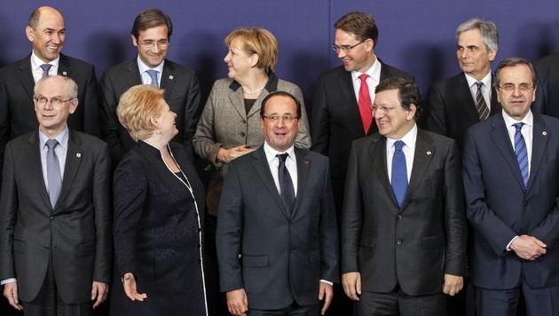 """""""Fahrplan"""" f�r Reformen der Euro-Zone vereinbart (Bild: EPA)"""