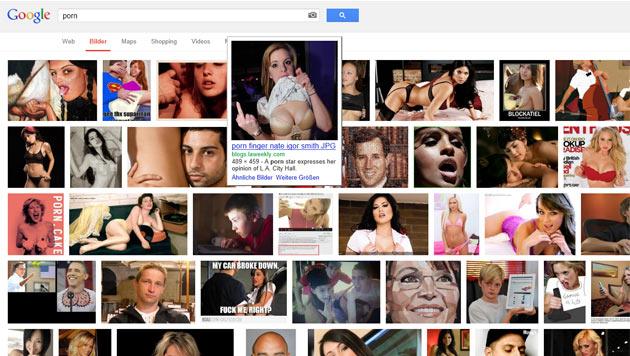 Google erschwert Porno-Bildersuche f�r US-Nutzer (Bild: Screenshot Google)