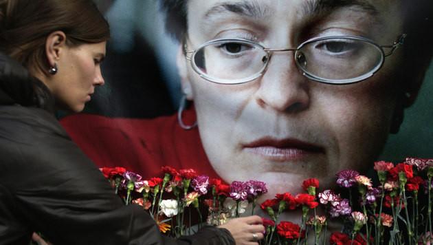 Politkowskaja-Mord: Elf Jahre Haft f�r Ex-Polizist (Bild: AP)