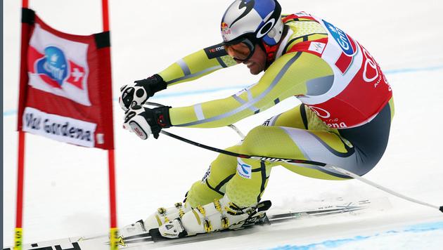 Svindal gewinnt den Gr�den-Super-G mit 1,07 Sek. Vorsprung (Bild: AP)