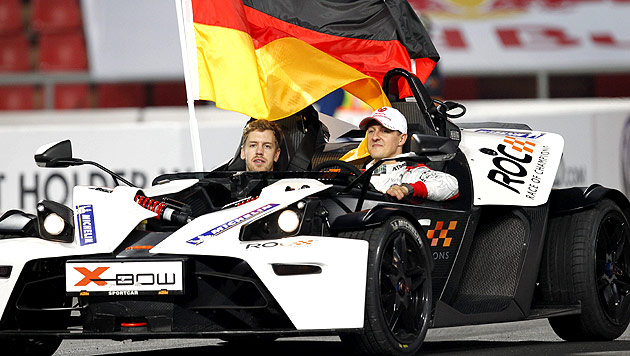 Lotus-Pilot Romain Grosjean gewinnt Einzelwertung (Bild: EPA)