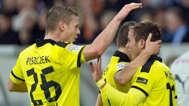 Meister Borussia Dortmund bezwingt Hoffenheim mit 3:1 (Bild: EPA)