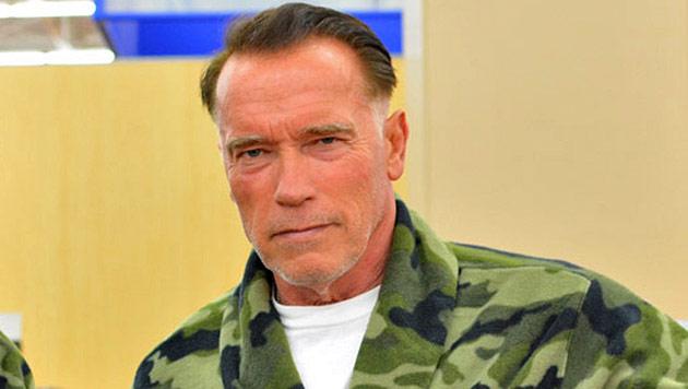 """Arnie: """"Froh, dass ich wieder normale Frisur habe!"""" (Bild: Werner Kopacka)"""