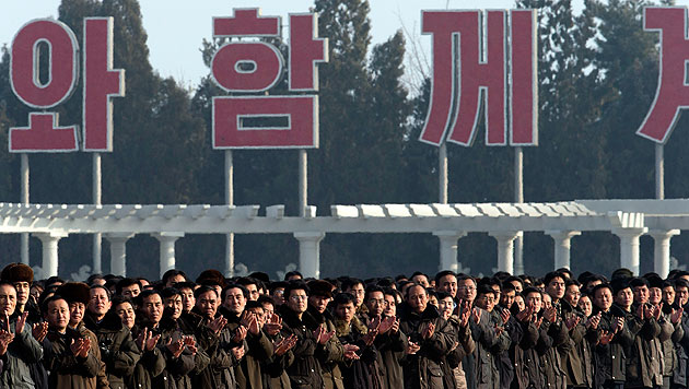 Ausländer dürfen erstmals Handys in Nordkorea behalten (Bild: dapd)